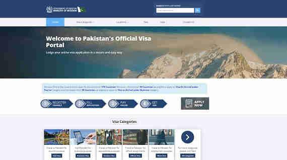 obtenez votre e-Visa officiel  pour le Pakistan