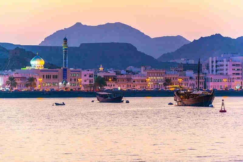 Nombre de jours possibles sur place avec un E-Visa Oman