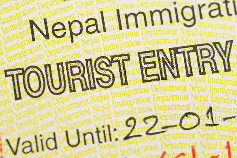 visa Népal en urgence